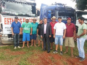 Deputado Colatto retoma reuniões sobre pauta de reivindicações dos caminhoneiros