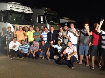 Valdir Colatto celebra encontro entre caminhoneiros autônomos e o governo federal