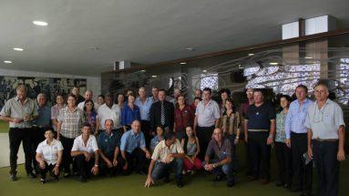 Visita de agricultores de Xaxim e Integrantes do Sindicato dos Trabalhadores Rurais no congresso nacional
