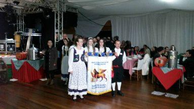 Festa da Sangria do vinho em Pinheiro Preto/SC