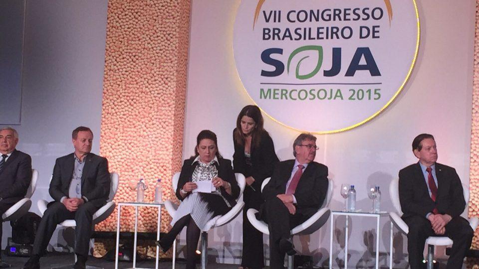 Colatto participa do Congresso Brasileiro de Soja em Florianópolis