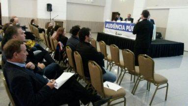 Audiência pública (pedágios) em Chapecó