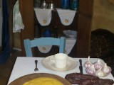 Café colonial em Arvoredo