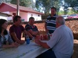 Festa na comunidade de São Roque em Chapecó