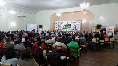 Encontro regional do PMDB em Joaçaba