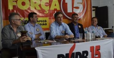 Neste sábado 12/9 – Encontro do PMDB marca nova fase do partido em Chapecó