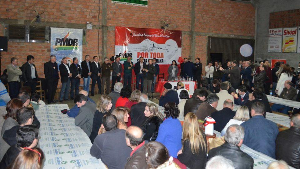 PMDB reforça candidatura própria em Chapecó