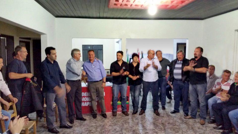 Convenção municipal: Colatto assume diretório municipal do PMDB e conduzirá o Projeto Muda Chapecó