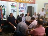 Reunião de organização e trabalho do diretório do PMDB de Chapecó