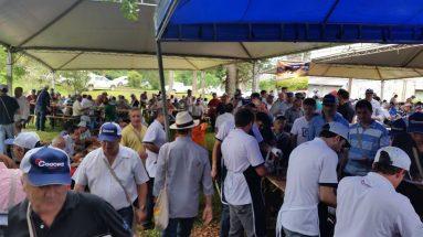 Campos Novos grande encontro com almoço especial do MICHUIM