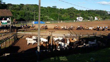 Rodeio nacional em Chapecó