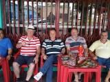 Confraternização com amigos no BAR DO GALO – Chapecó