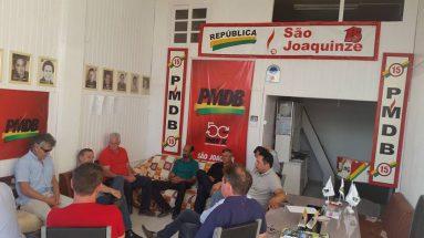 Compromissos em São Joaquim