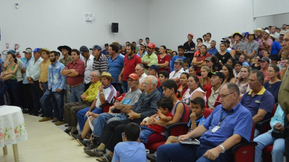Assentados querem a titulação das terras em Abelardo Luz