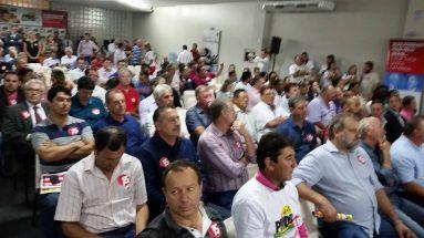 Encontro do PMDB/SC com Michel Temer em Florianópolis