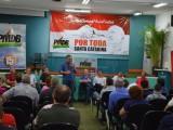 Encontro do PMDB, com regionais Chapecó, Seara e Quilombo e direção estadual do partido