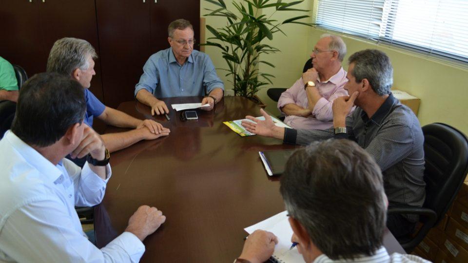 Colatto recebe prefeitos da regional de São Miguel do Oeste
