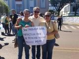 Manifestação em Xanxerê contra a corrupção