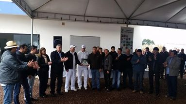 Entrega de 2 certificados SISBI/POA em Iporã Eurofrig e S.J.do Cedro a Cedro Frigor
