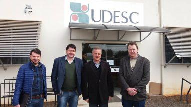 Visita a Udesc Chapecó