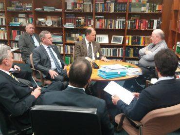 Colatto defende CPI da Funai e Incra em encontro com ministro do STF