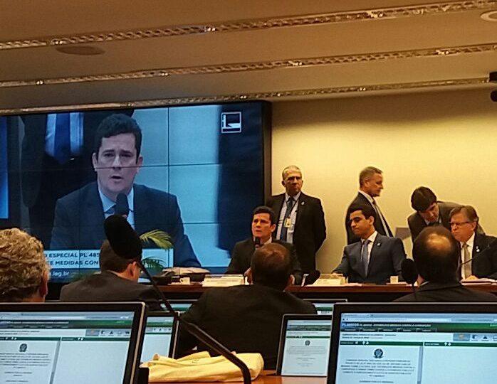 Colatto participa de audiência com juiz Sérgio Moro