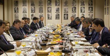 Colatto discute ajuste fiscal com o ministro Meirelles