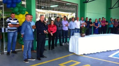 Inauguração do Supermercado da COOPER A1 em Caibi