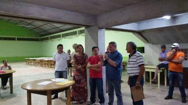 Encontro com agricultores na comunidade de Alto Cascalho município de Irani