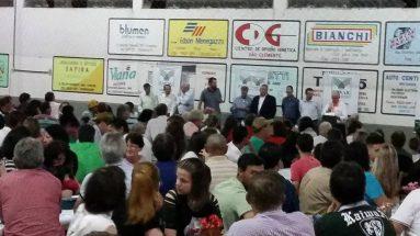 Encontro com agricultores de Catanduvas, Jaborá e Vargem Bonita
