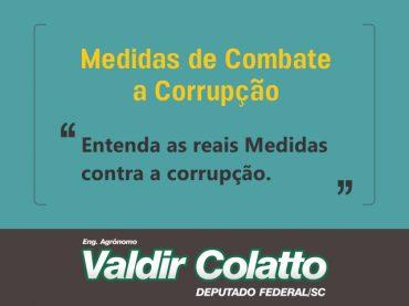 Sobre a Votação das Medidas Contra a Corrupção