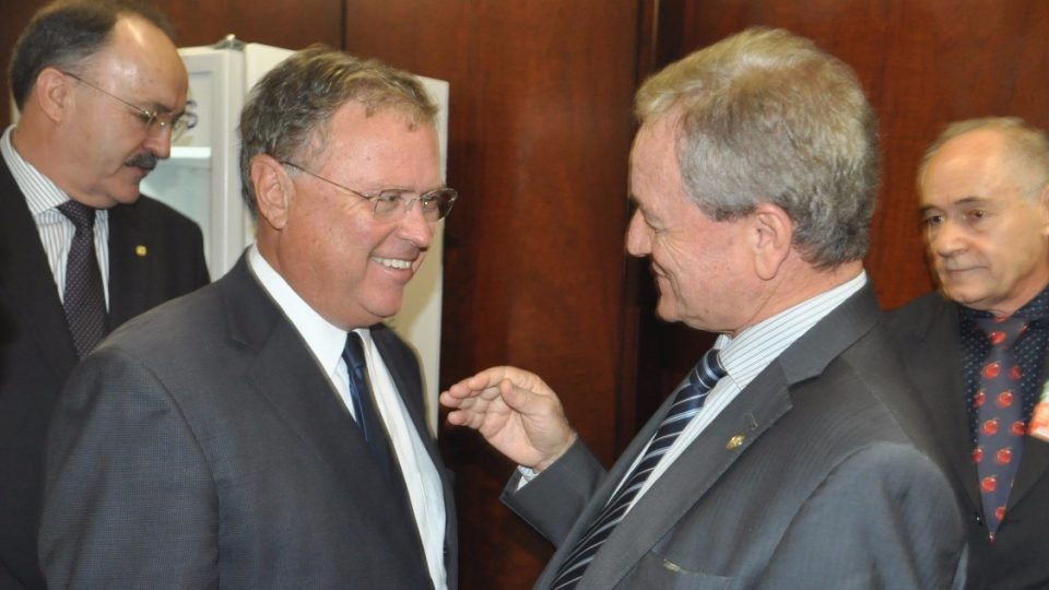 Colatto acompanha ministro em Chapecó