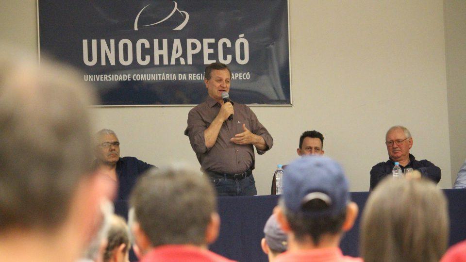 Deputado Colatto participa de encontro brasileiro de ovinocultura