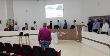 Colatto  participa do encerramento do primeiro mutirão do Programa Ação e Cidadania em Santa Catarina