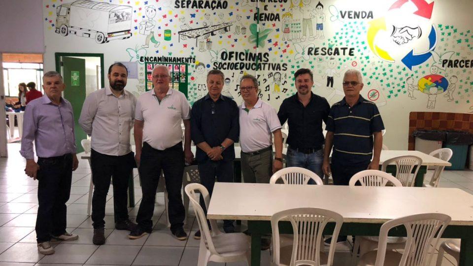 Verde Vida recebe a visita do deputado Colatto
