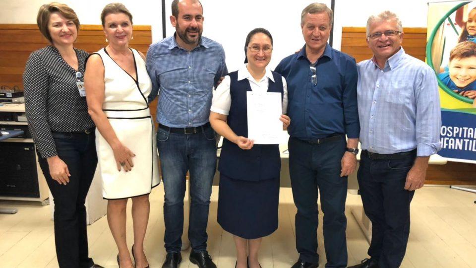 Deputado Colatto destina R$ 300 mil para Hospital de Joinville