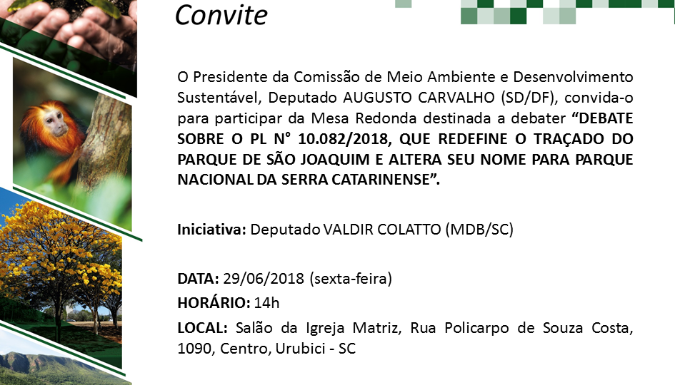 Mesa redonda debaterá novo traçado para o Parque Nacional de São Joaquim