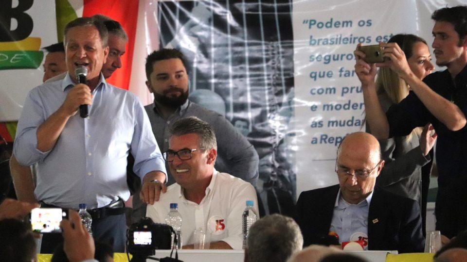 Pré-candidatos do MDB mobilizam militância e lideranças da região Oeste